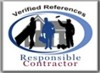 Responsible Contractor - Verified References